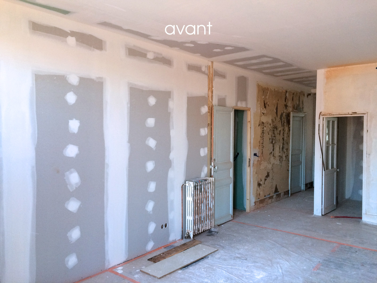 In renov rev tement mural cage d 39 escalier copropri t - Peinture interieur appartement ...