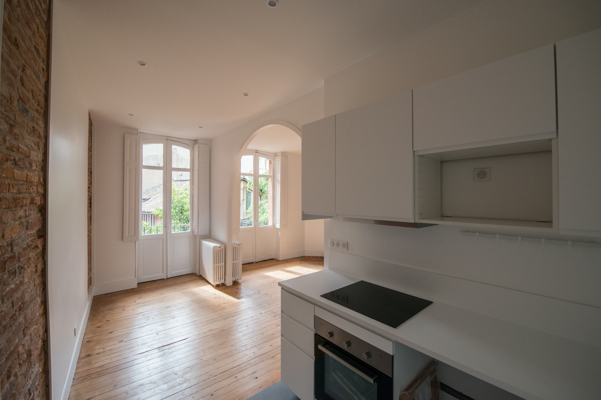 Rénovation de deux appartements à Toulouse