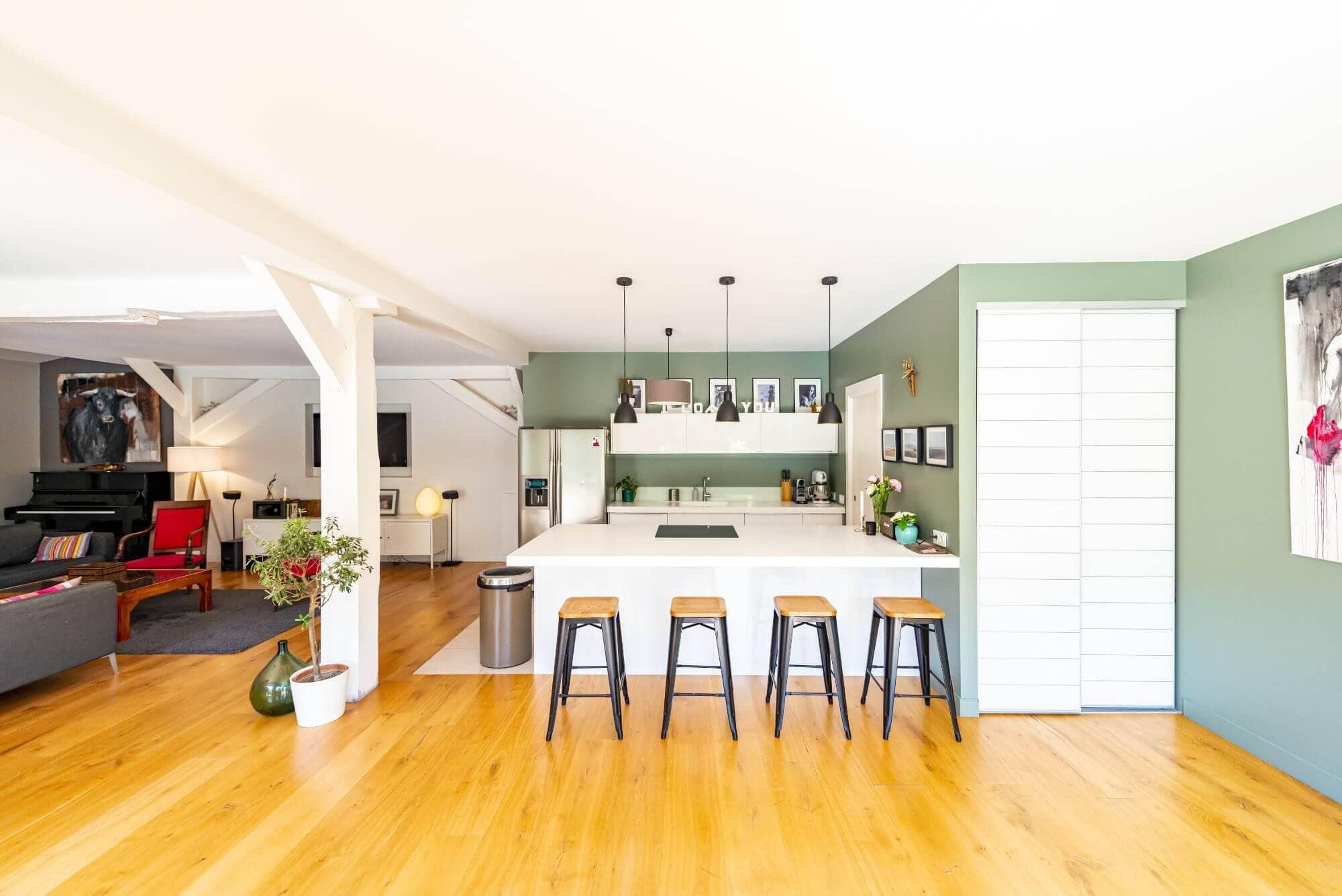 Cuisine, Renovation, Maison, Cuisine ouverte