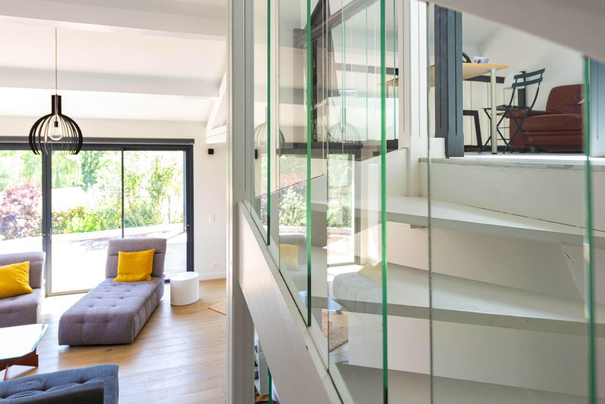 Escalier, Renovation