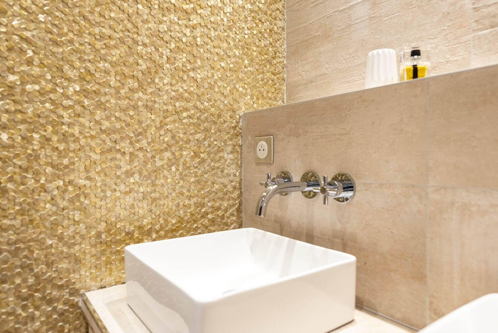 Salle de bain, Haut de gamme, Robinetterie, Vasques