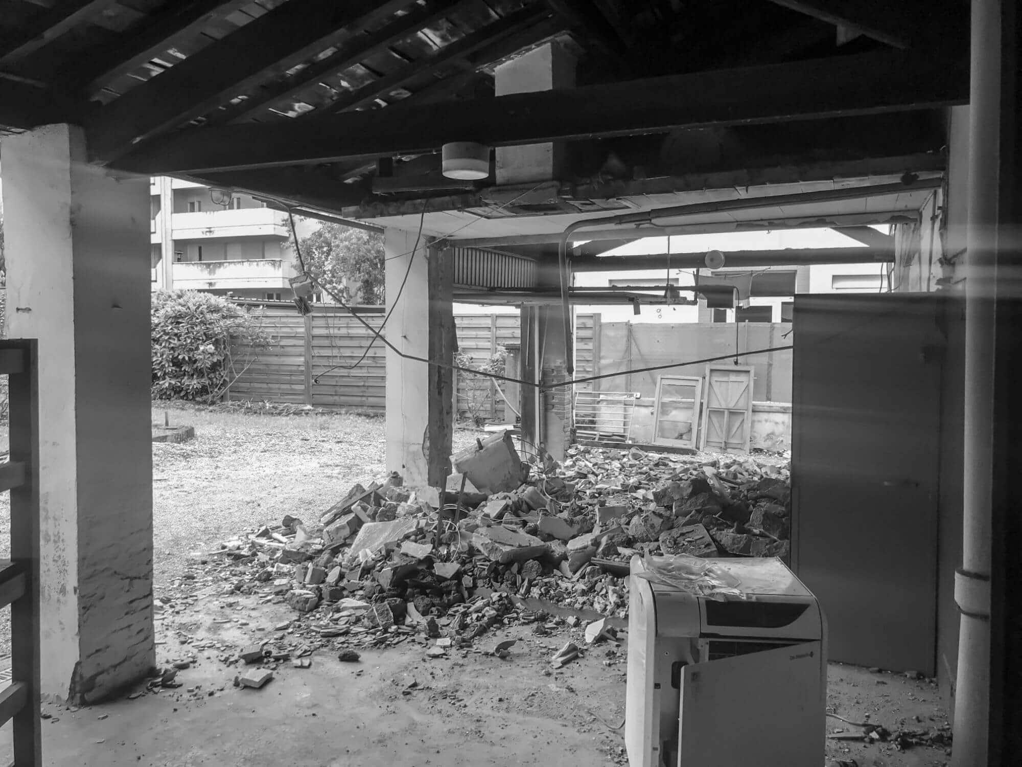 Rénovation Maison, Démolition cloisons