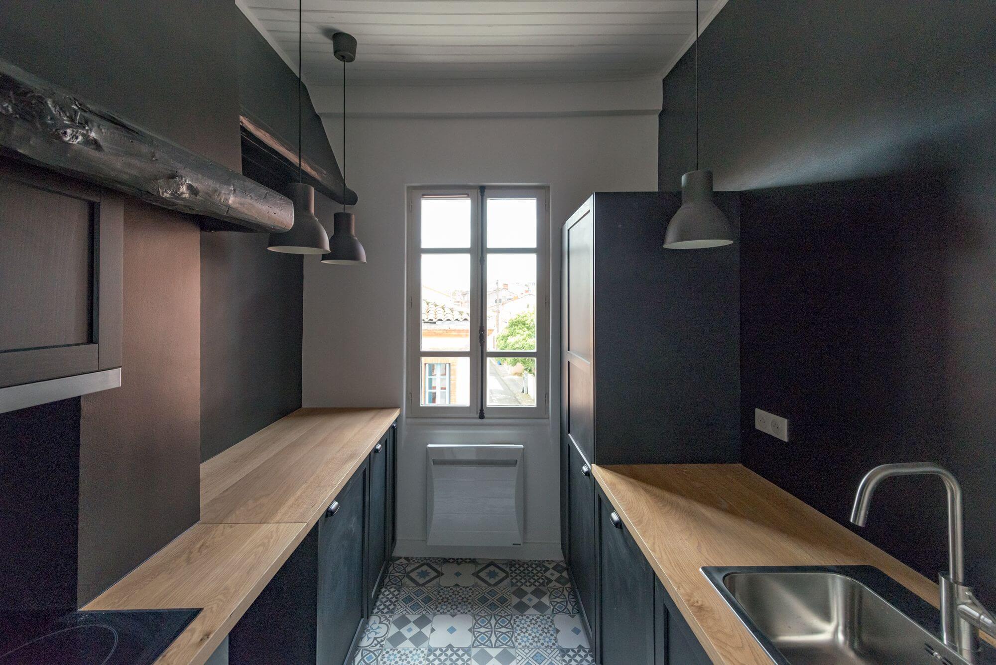 Appartement remis à neuf, Renovation en vue d'une location