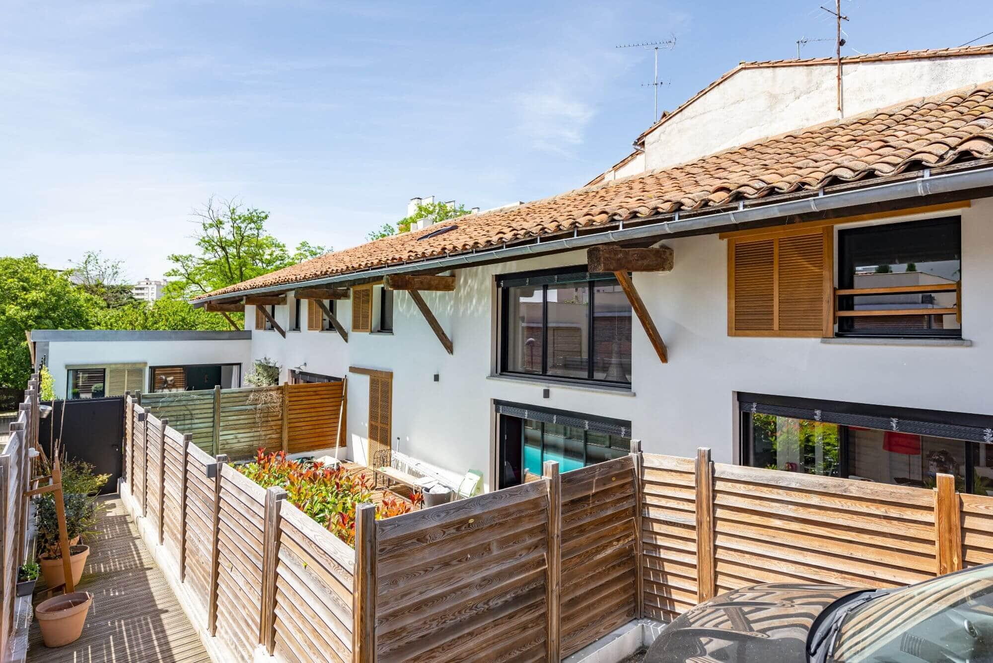Jardin, Cote Pavee, patio, Piscine