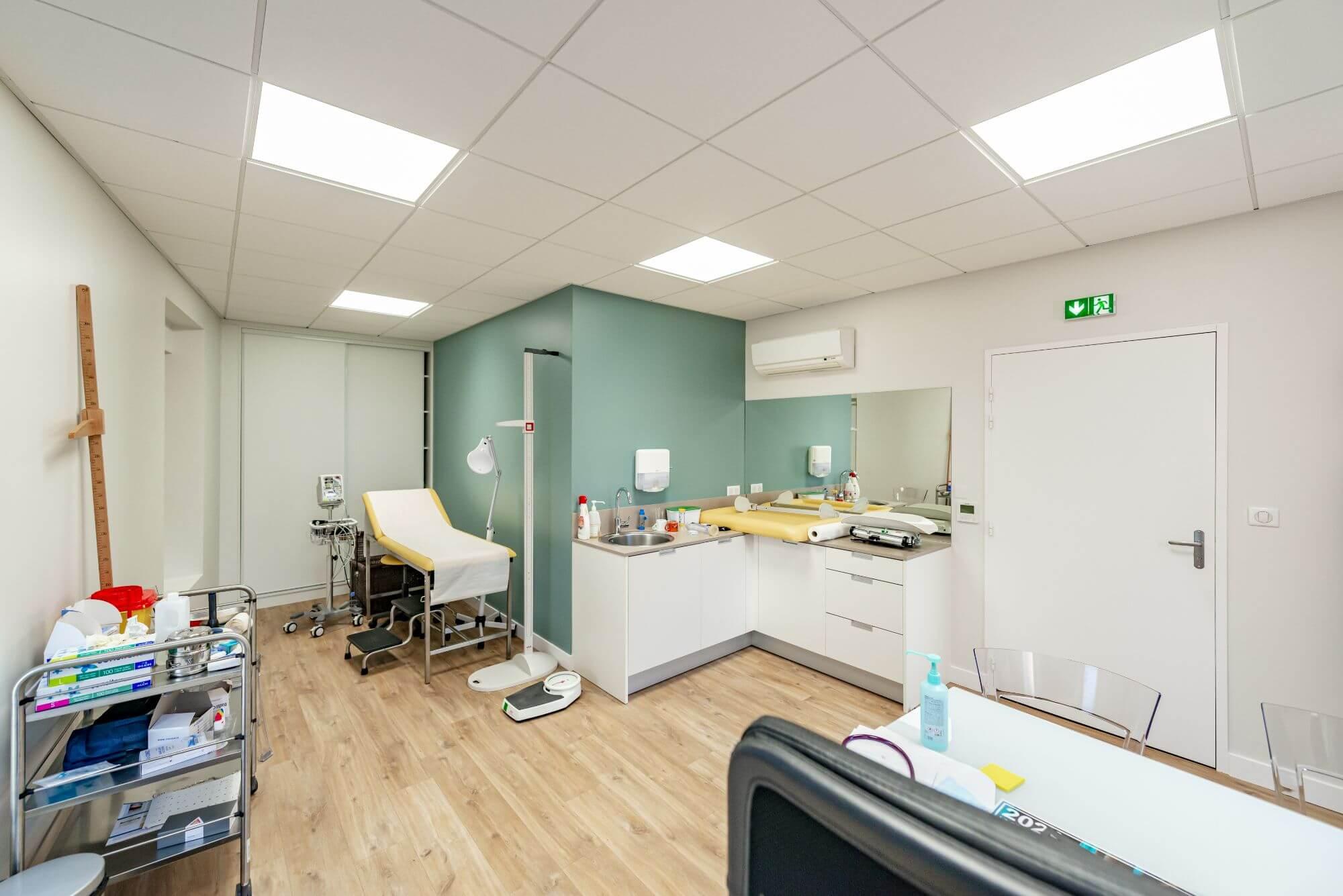 Rénovation de cabinet médical à toulouse