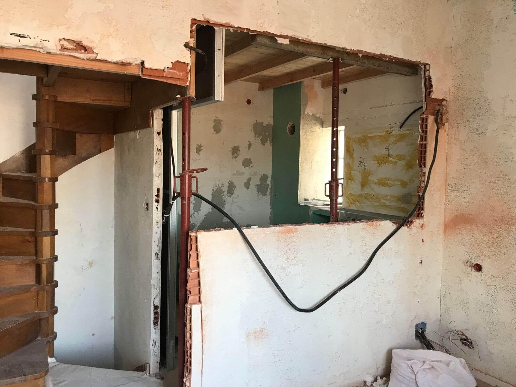 Chambre, Rénovation, Travaux