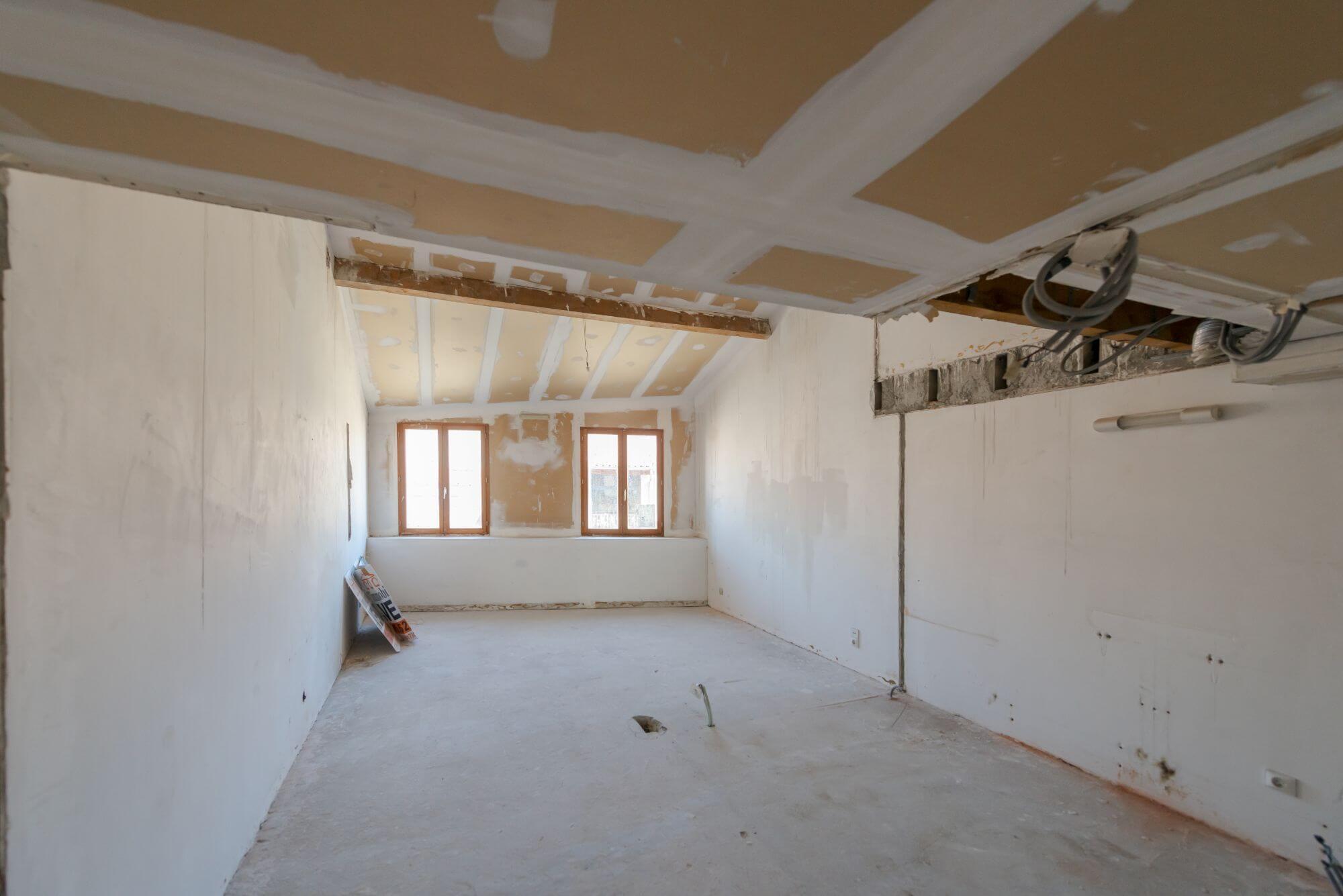 Chambre parentale, avant rénovation