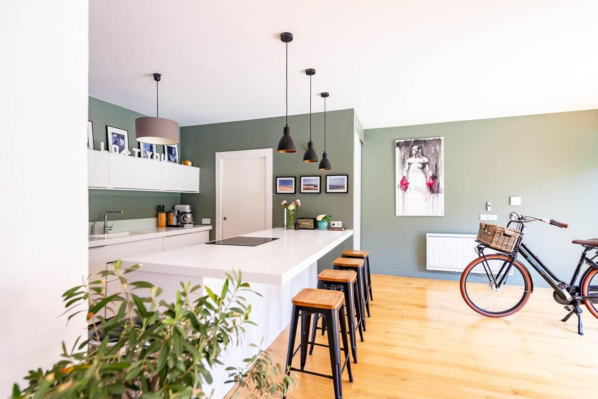 Cuisine, Maison, Cote Pavée, Rénovation, Toulouse