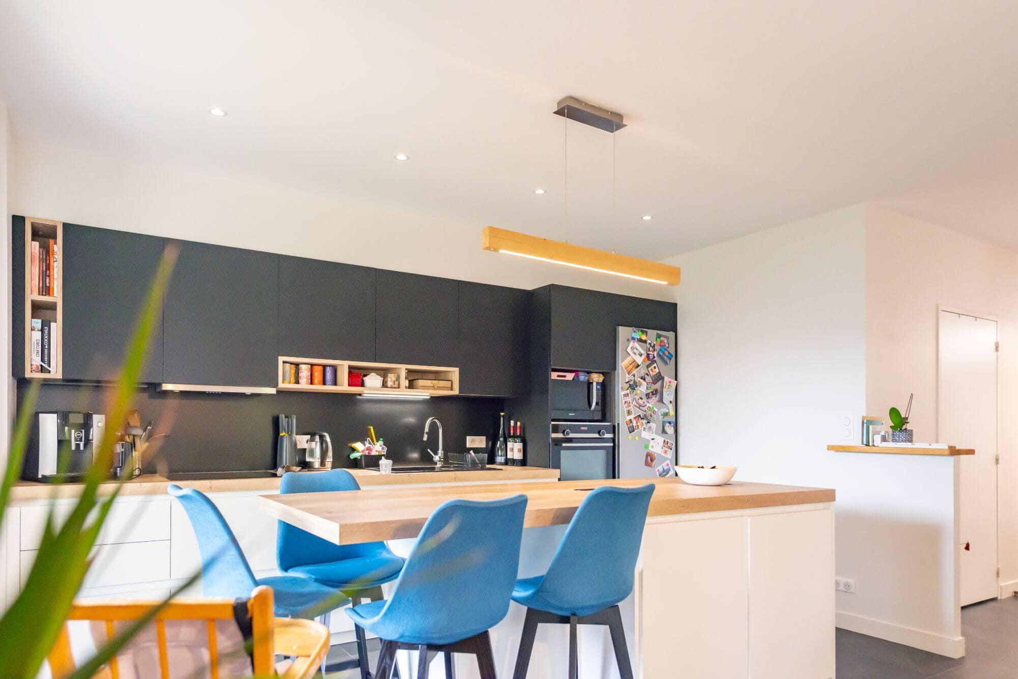 Cuisine, Peinture, Architecte d'intérieur