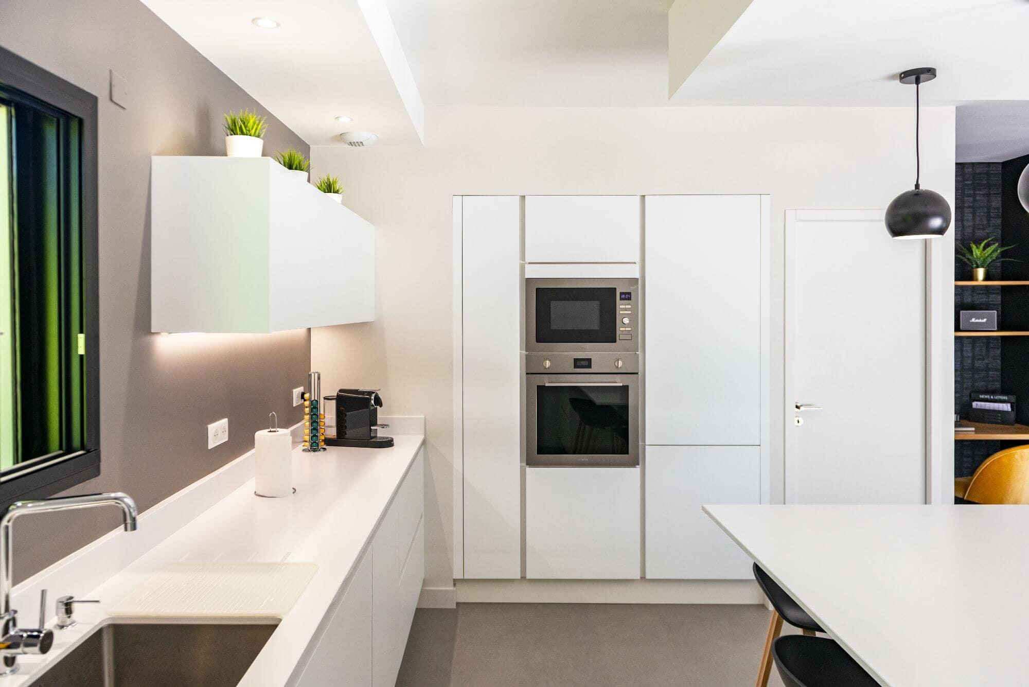 Déclaration de Travaux, Cuisine architecture d'intérieur
