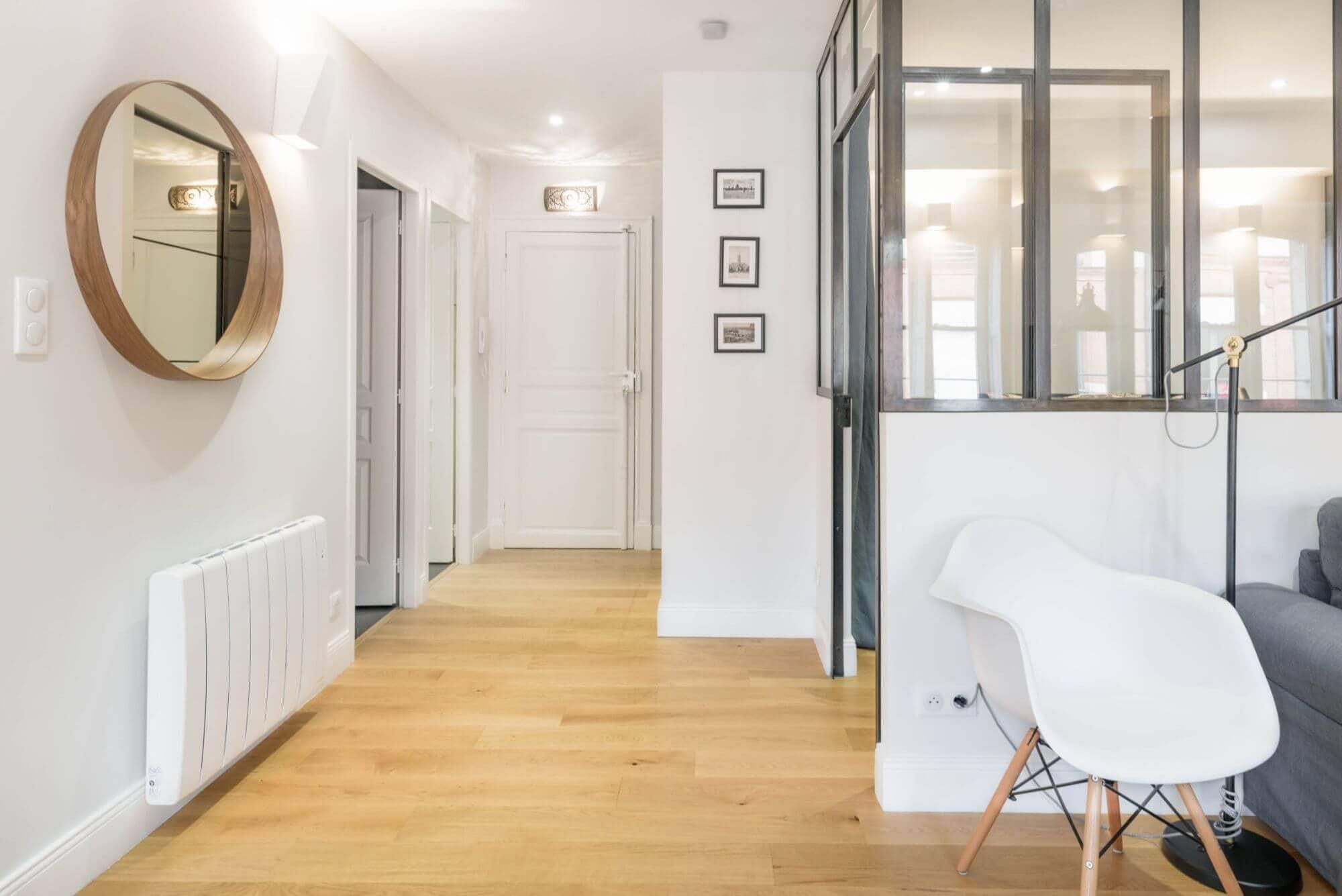 Entrée appartement, Rénovation, Décoration