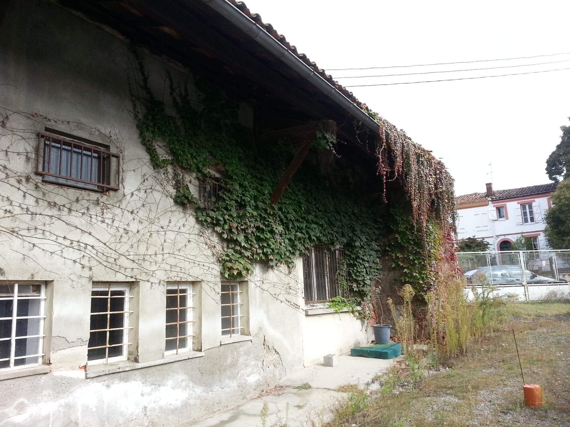 Jardin, Maison, Cote Pavee, Avant rénovation