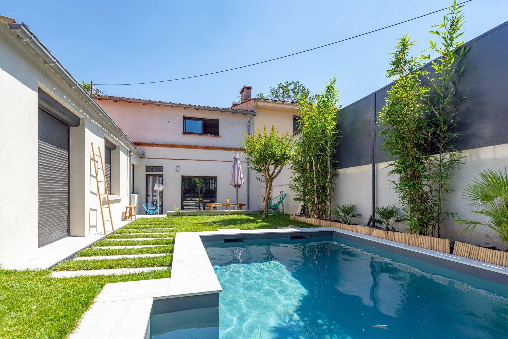 Maison, Claustra, Piscine, Quartier Limayrac