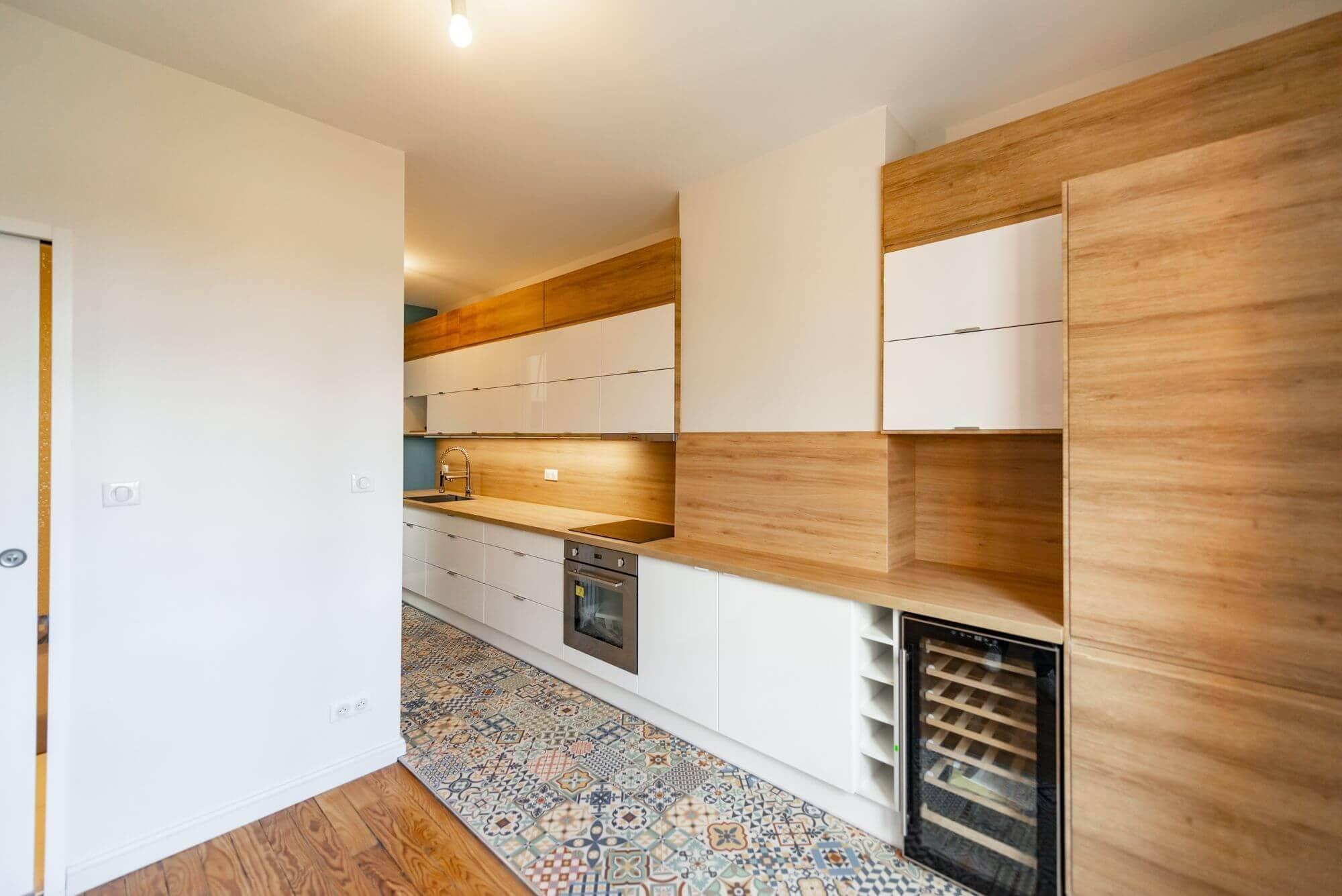 Travaux de rénovation de l'appartement garantis