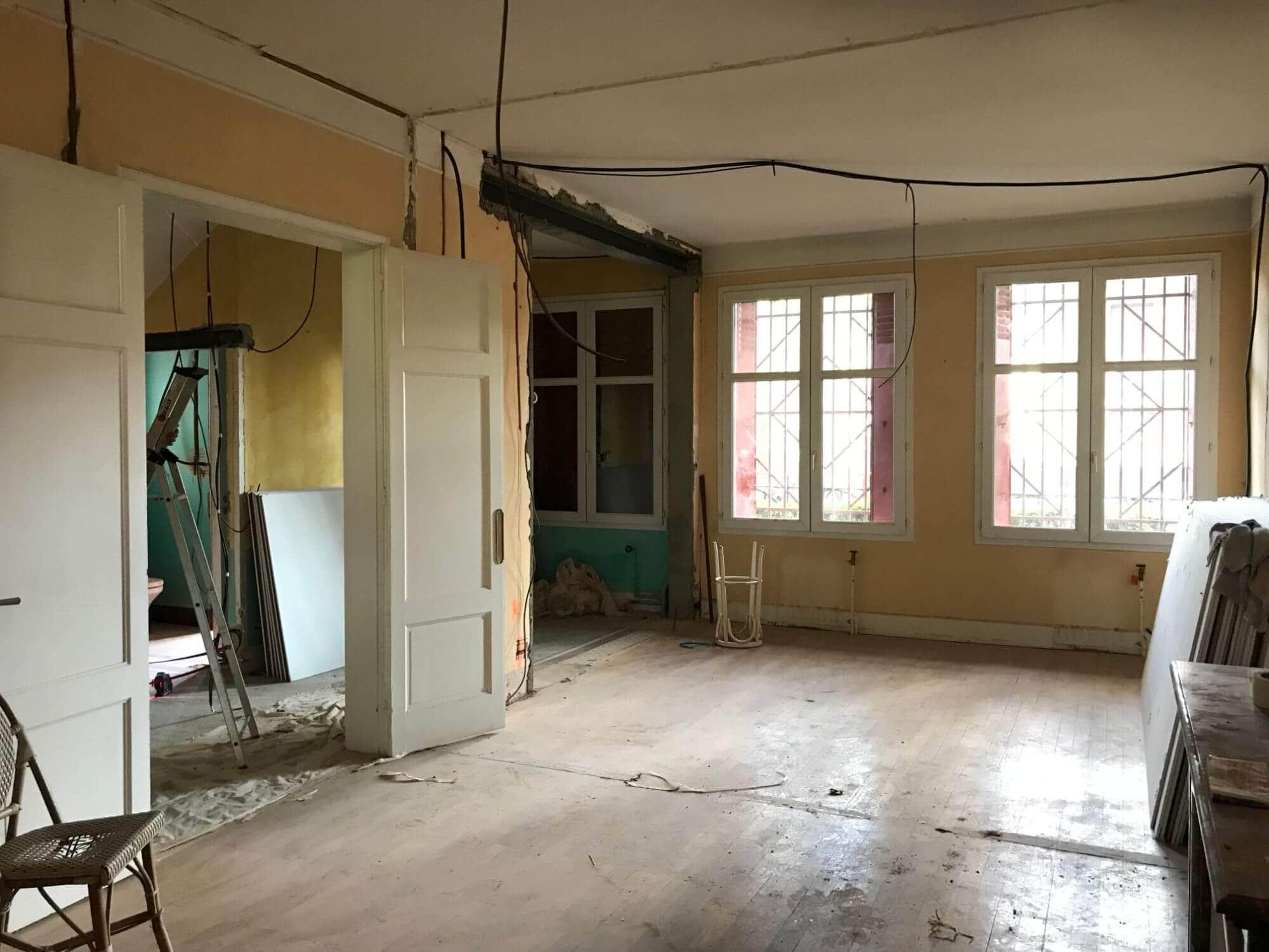 Rénovation Maison, Salon, Rénovation tous corps d'état, Toulouse