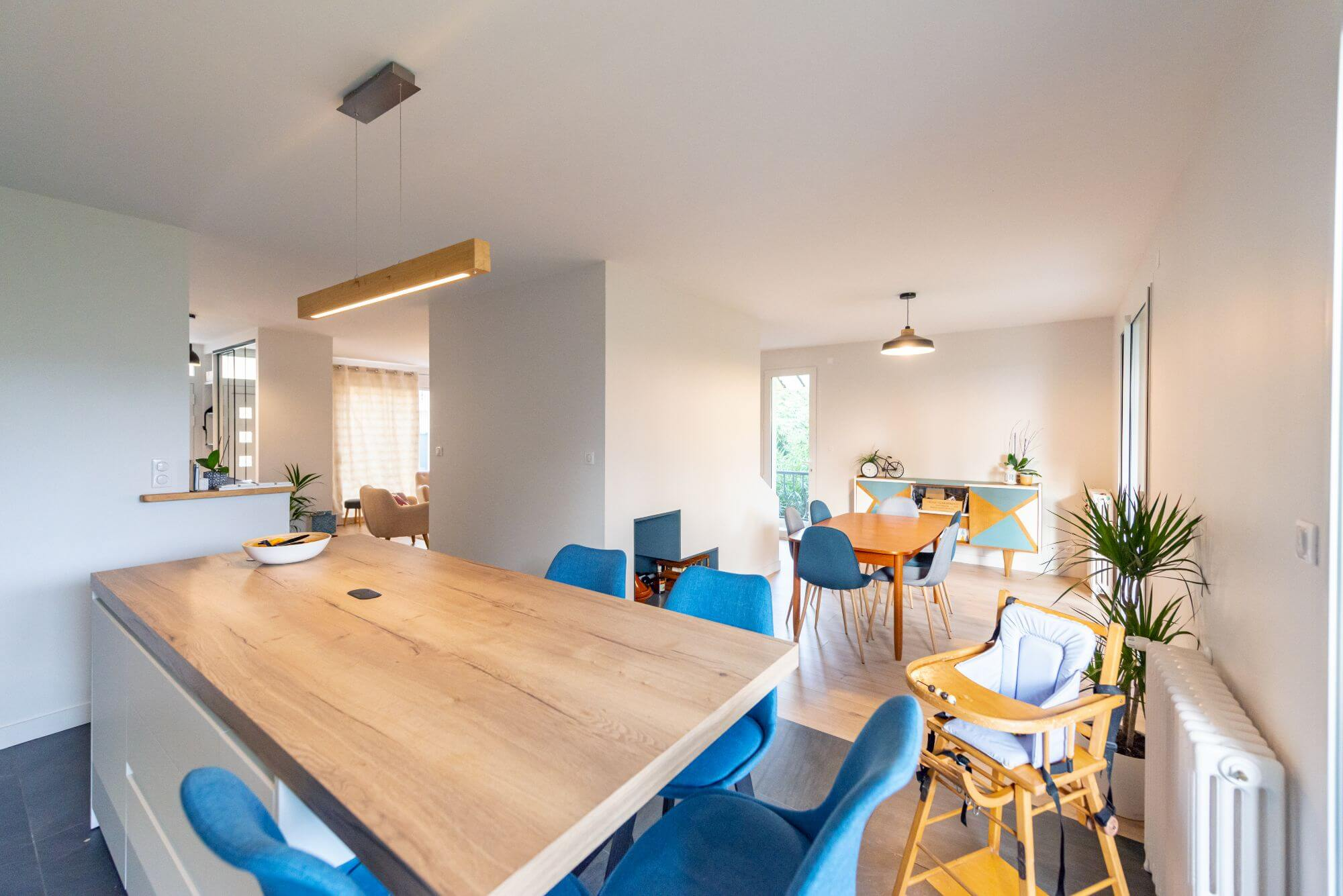 Maison, Rénovation, Rangueil, Cuisine, Salon, Revetements