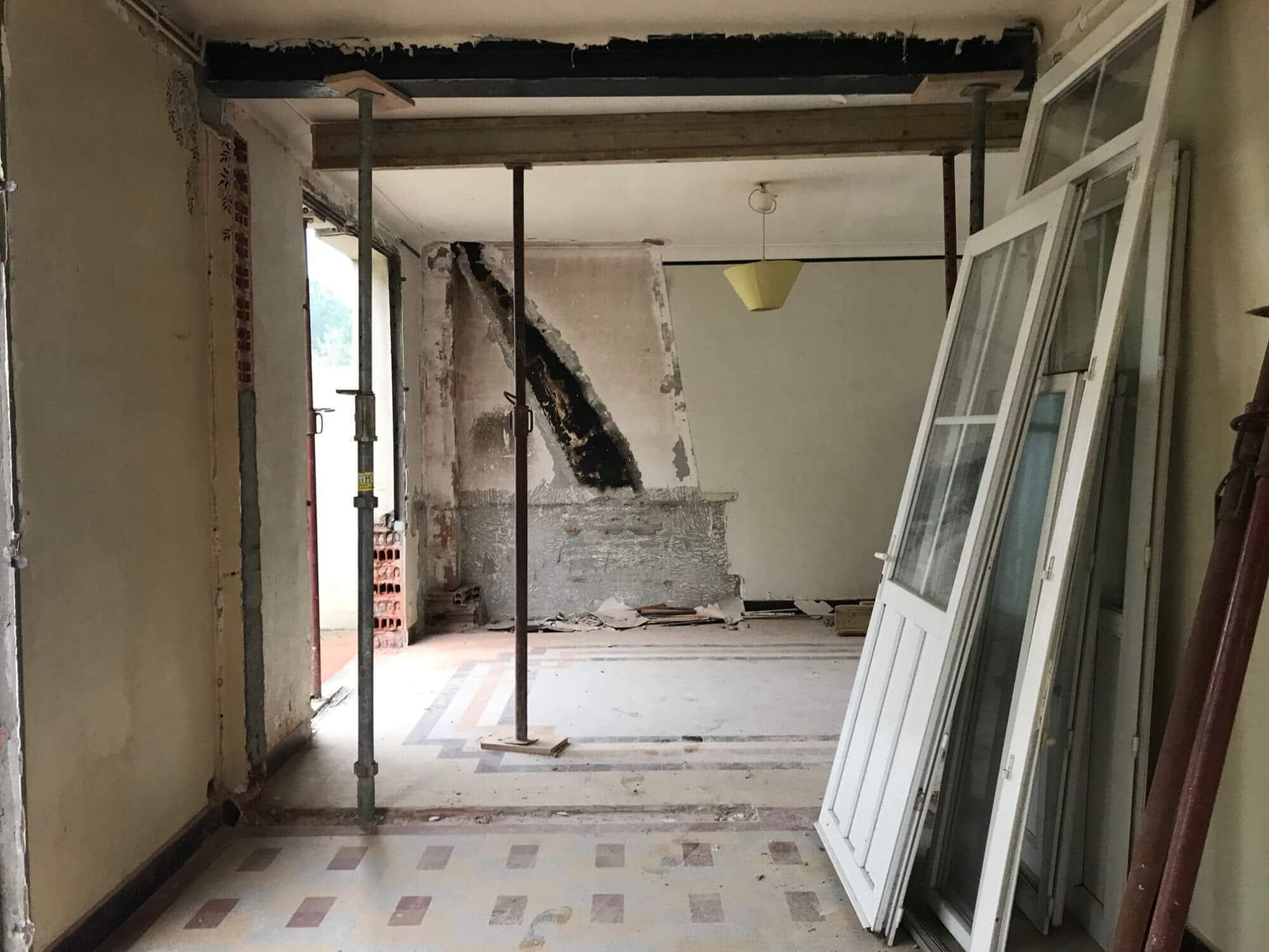 Rénovation, Maison