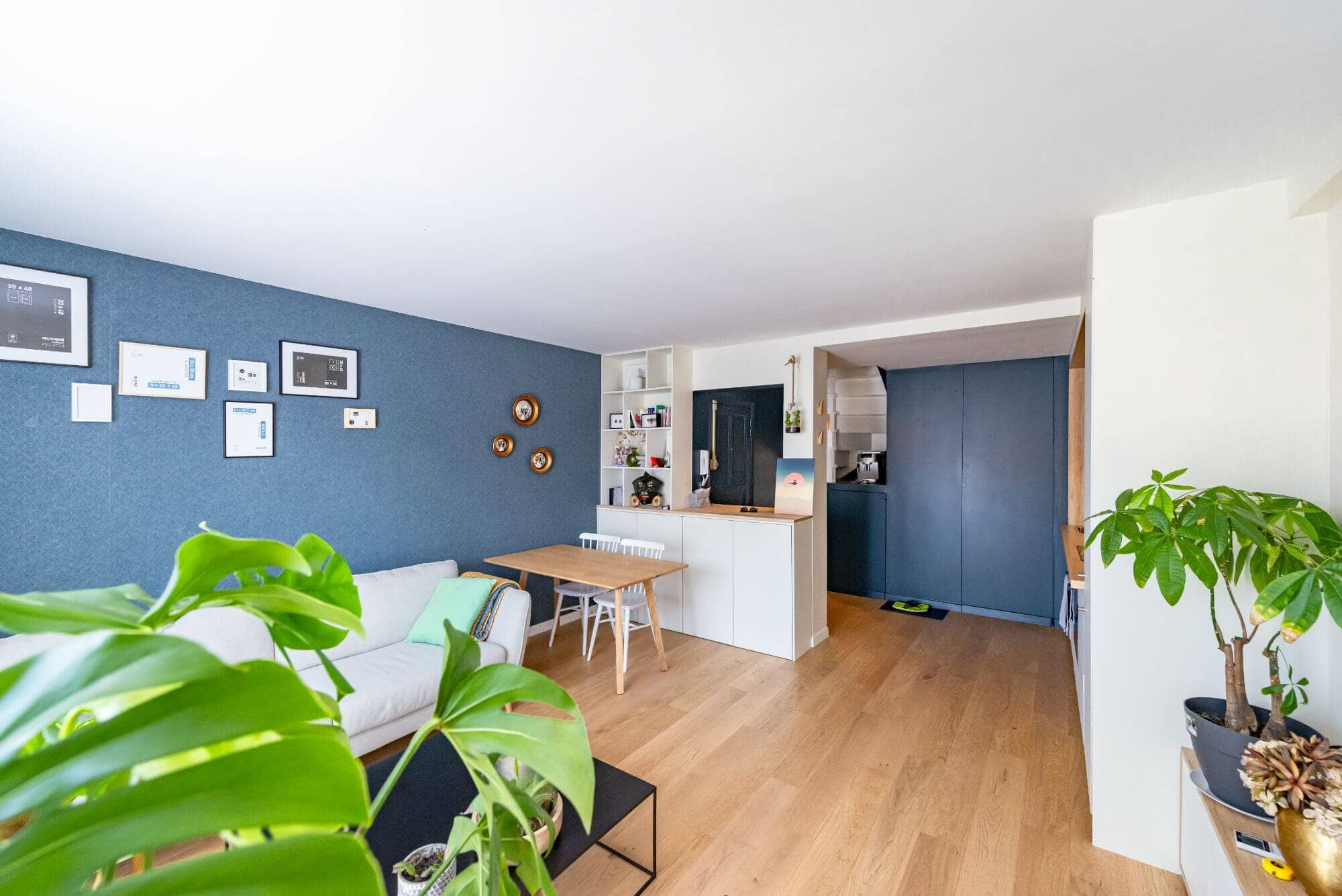Salon, Duplex, Appartement, Jeanne D'arc
