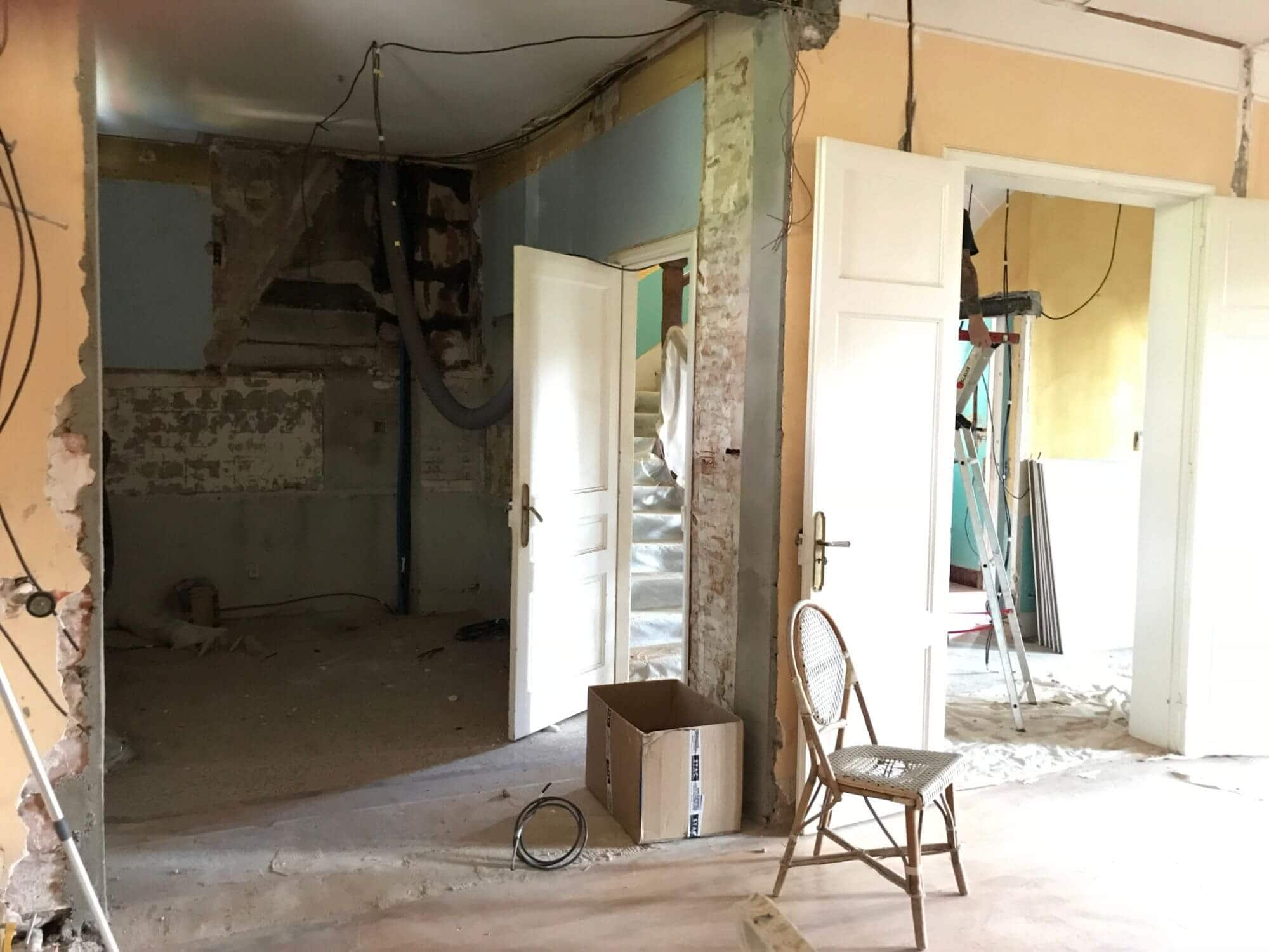 Creation verriere, rénovation maison, maison de maitre